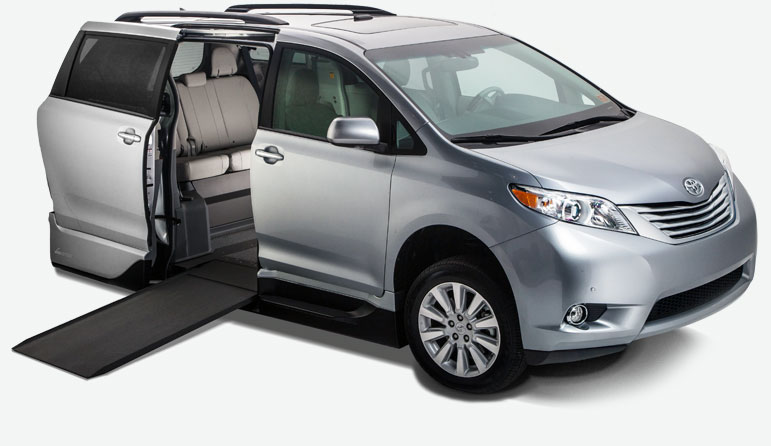 Toyota Sienna Northstar Access360 Mobility Express